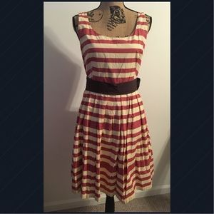 Anthropologie Corey Lynn Calter Dress Pink Size 14